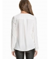 Bluza alba simpla  - 3