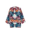 Bluza lejera cu imprimeu floral  - 6