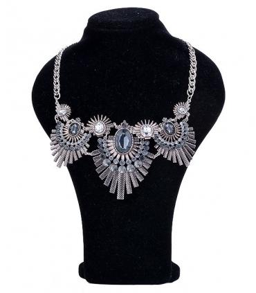 Colier argintiu elegant