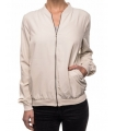 Bomber jacket crem casual  - 1