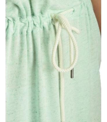 Rochie albastra azur lejera de vara cu picatele  - 3