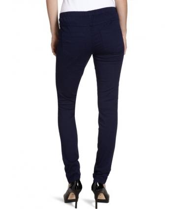 Pantaloni skinny galbeni stil colanti  - 4