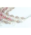 Colier elegant cu flori  - 5