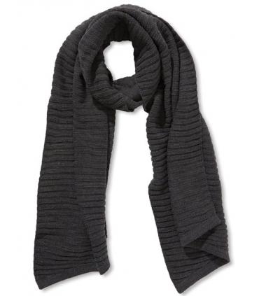 Fular tricotat gri-inchis  - 2