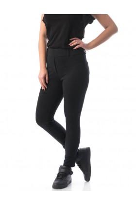 Colanti stil pantalon culoare neagra  - 1