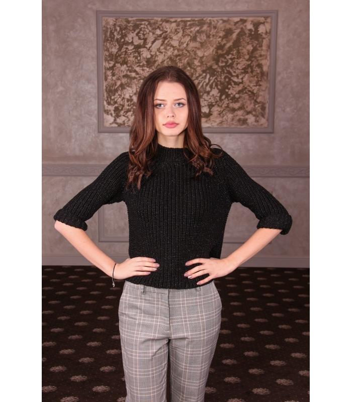 Pulover Emily Negru  - 1