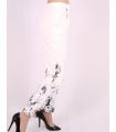 Pantaloni cu imprimeu floral Raspberry - 3
