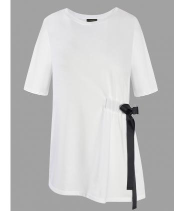 Top alb cu funda neagra in lateral Raspberry - 4