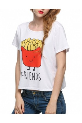 Tricou Funky Friends Fries  - 1