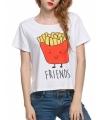 Tricou Funky Friends Fries  - 5